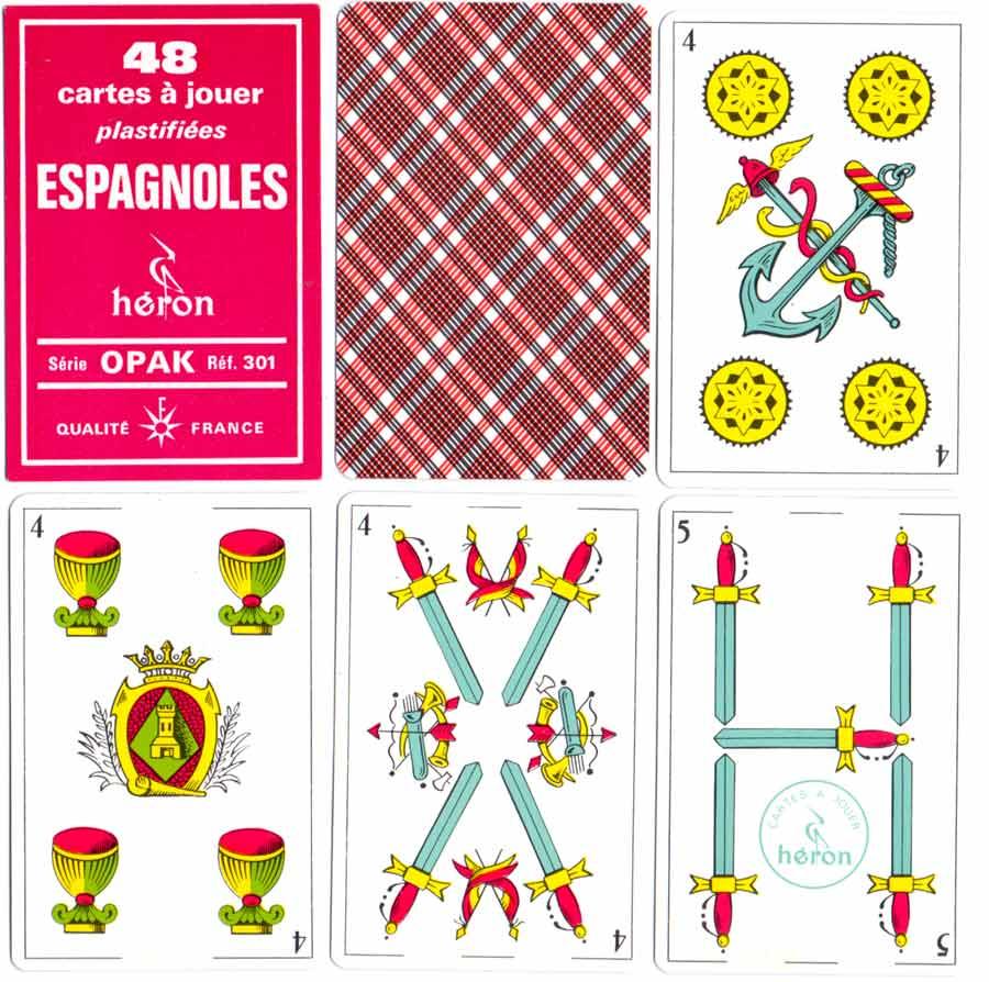 Cartes à Jouer Espagnoles Héron - Catalan pattern c.1990