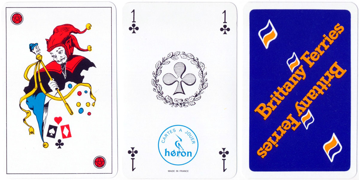 Promotional Deck for Brittany Ferries by Héron