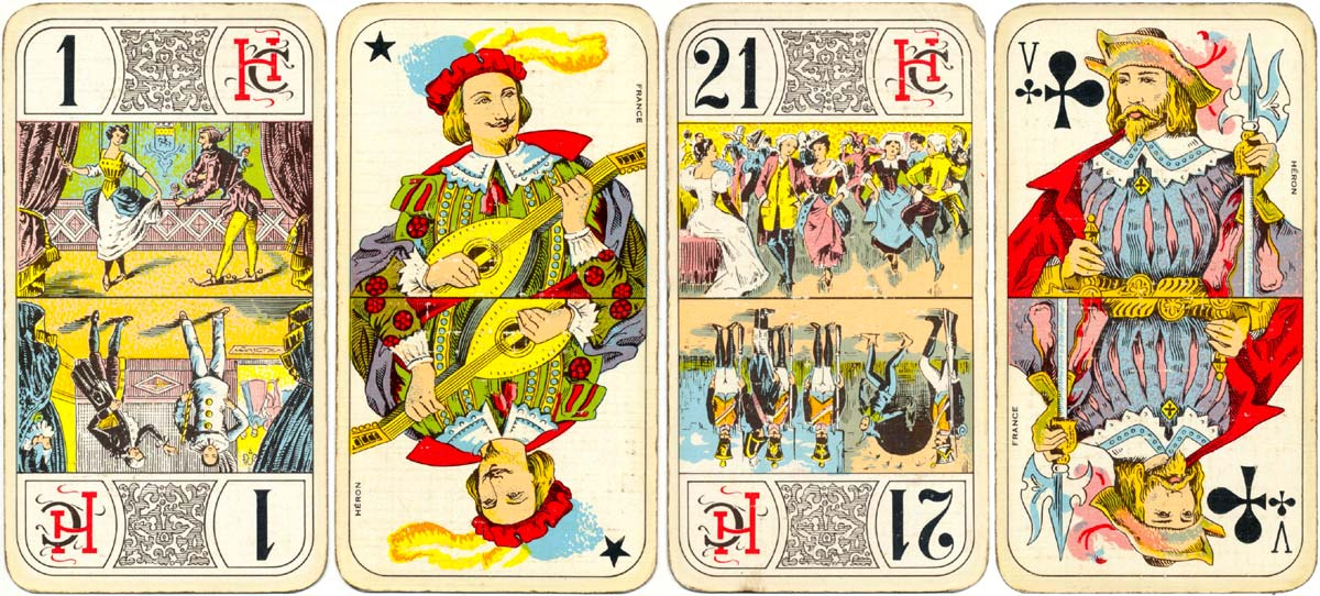 Heron's standard pack for the French game of Tarot