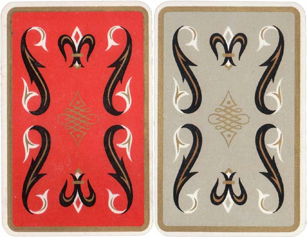 'Cartes de Luxe' with artwork by Belgian artist and designer Jean Borin (1907-1997)