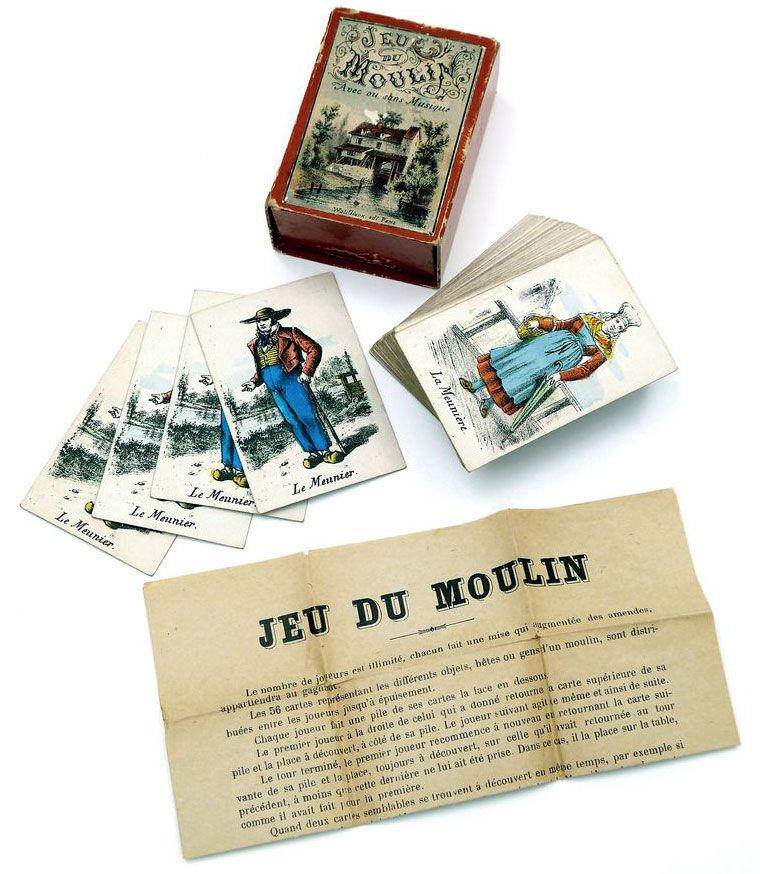 Jeu du Moulin by Watilliaux, Paris c.1880