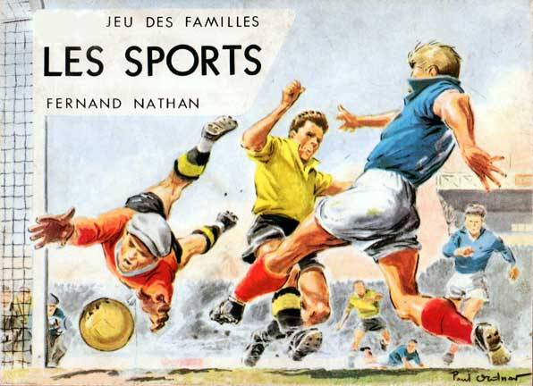 Les Sports designed by Paul Ordner, c.1960