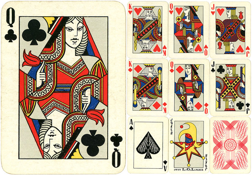 Art Deco pack by Jeux L.G.L., Paris