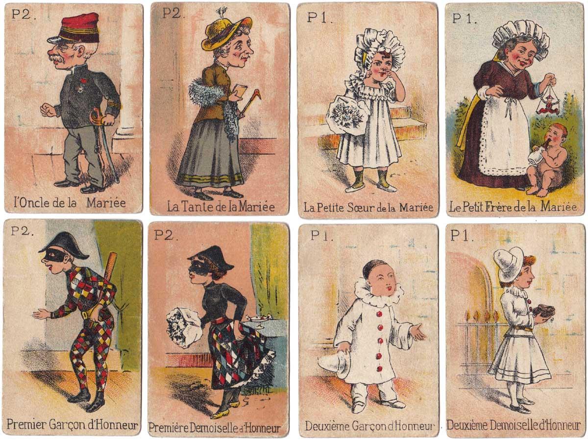 La Mariée du Mardi-Gras, Jeux et Jouets Français, Paris, early 1900s