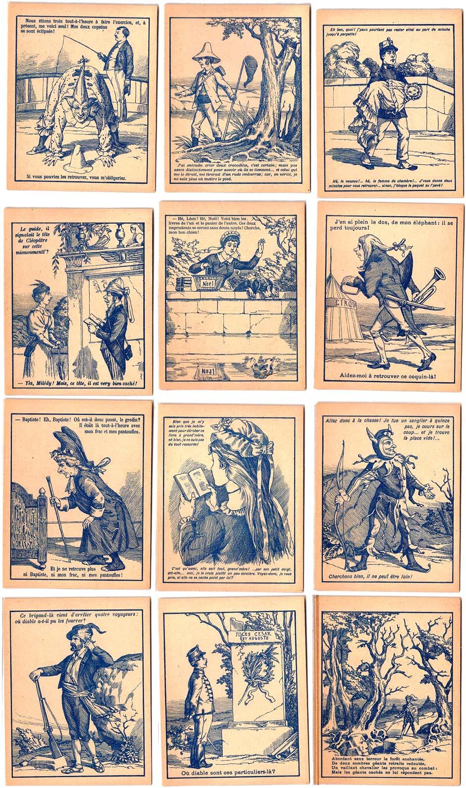 Imagerie Pellerin's Cartes Questions-Devinettes