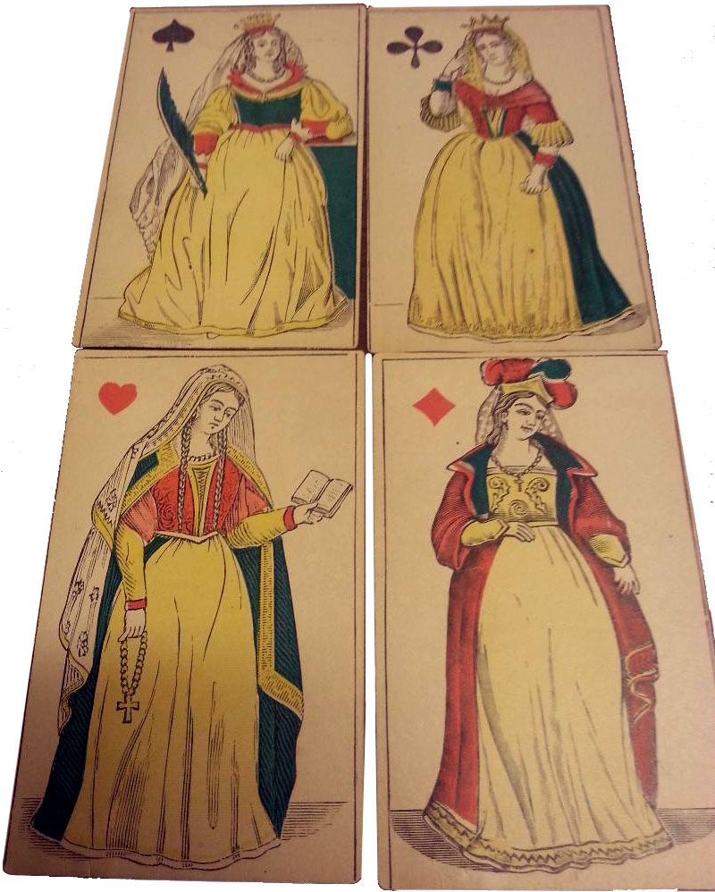 Translucent Playing Cards, 19th century French