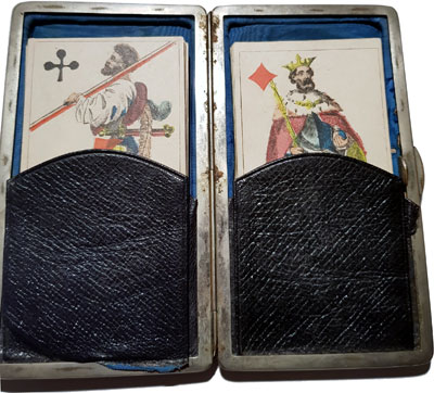 Amorous Translucent Playing Cards, French, c.1850