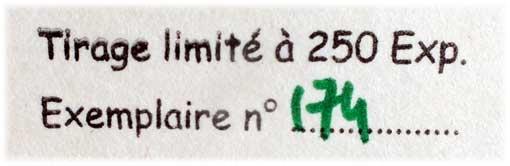 "Virginie Houdet ""Cartes à Jouer"" limited edition, 2017"