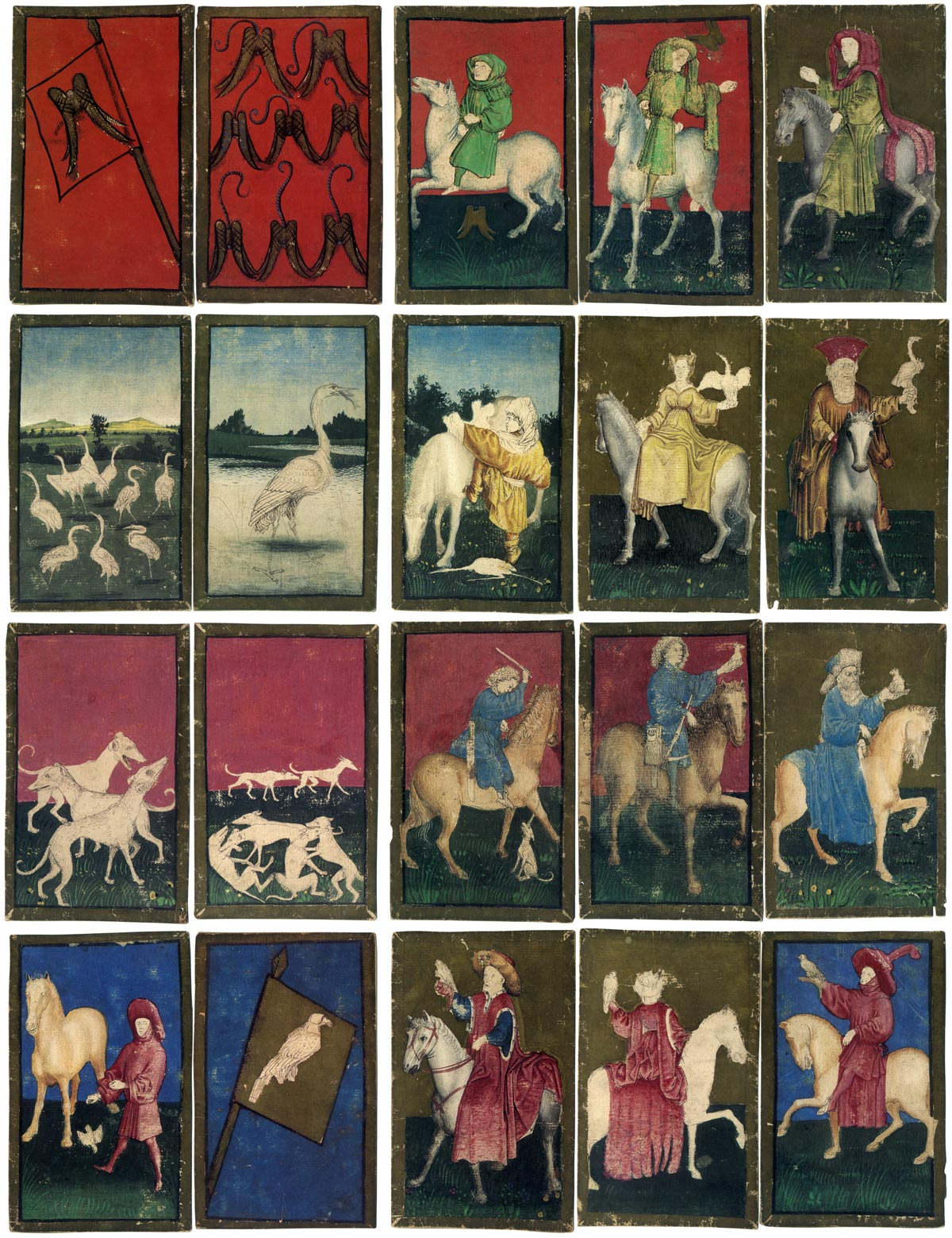 The Ambras Court Hunting pack, c.1445