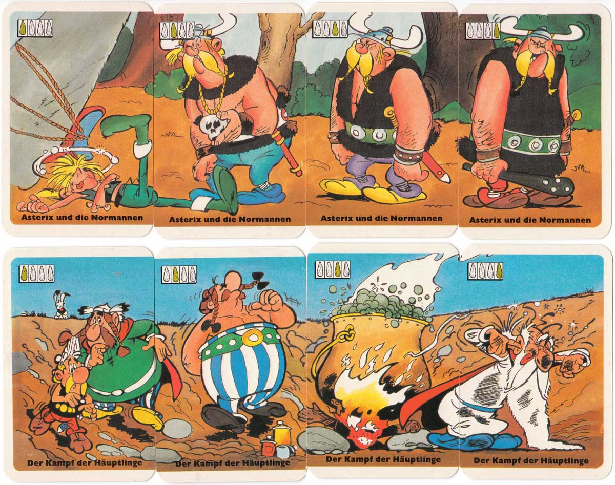 Asterix Abenteuer-quartett by ASS, 1989