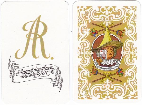 'August der Starke und seine Zeit' designed by Günter Schmitz, 1985