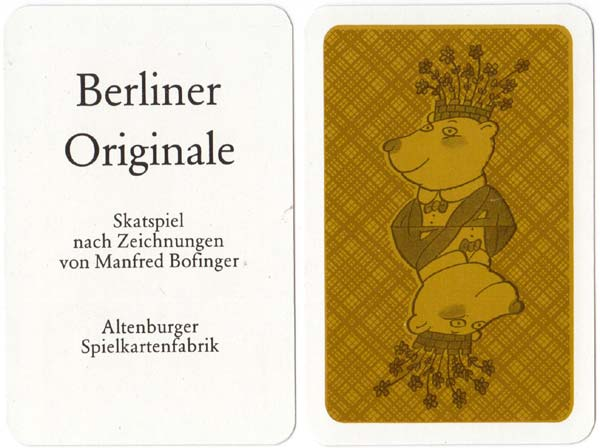 """Berliner Originale"" designed by Manfred Bofinger, 1986"