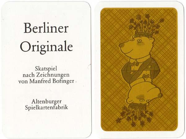 """""""Berliner Originale"""" designed by Manfred Bofinger, 1986"""