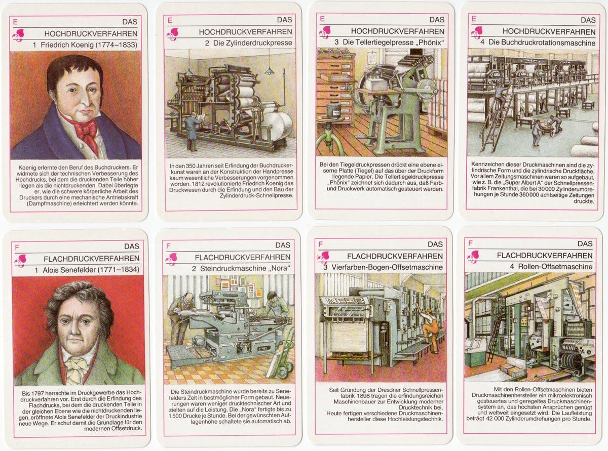 Geschichte des Buchgewerbes illustrated by Ludwig Winkler, published by Verlag für Lehrmittel Pößneck