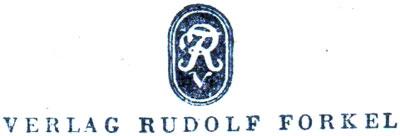 Verlag Rudolf Forkel