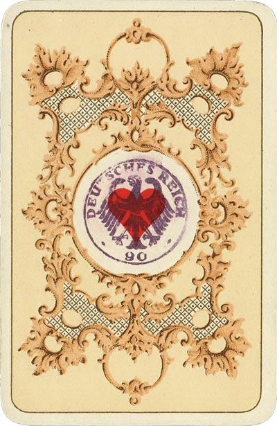 "Original ""Kaiserkarte"" by Schneider & Co, 1895-1897"