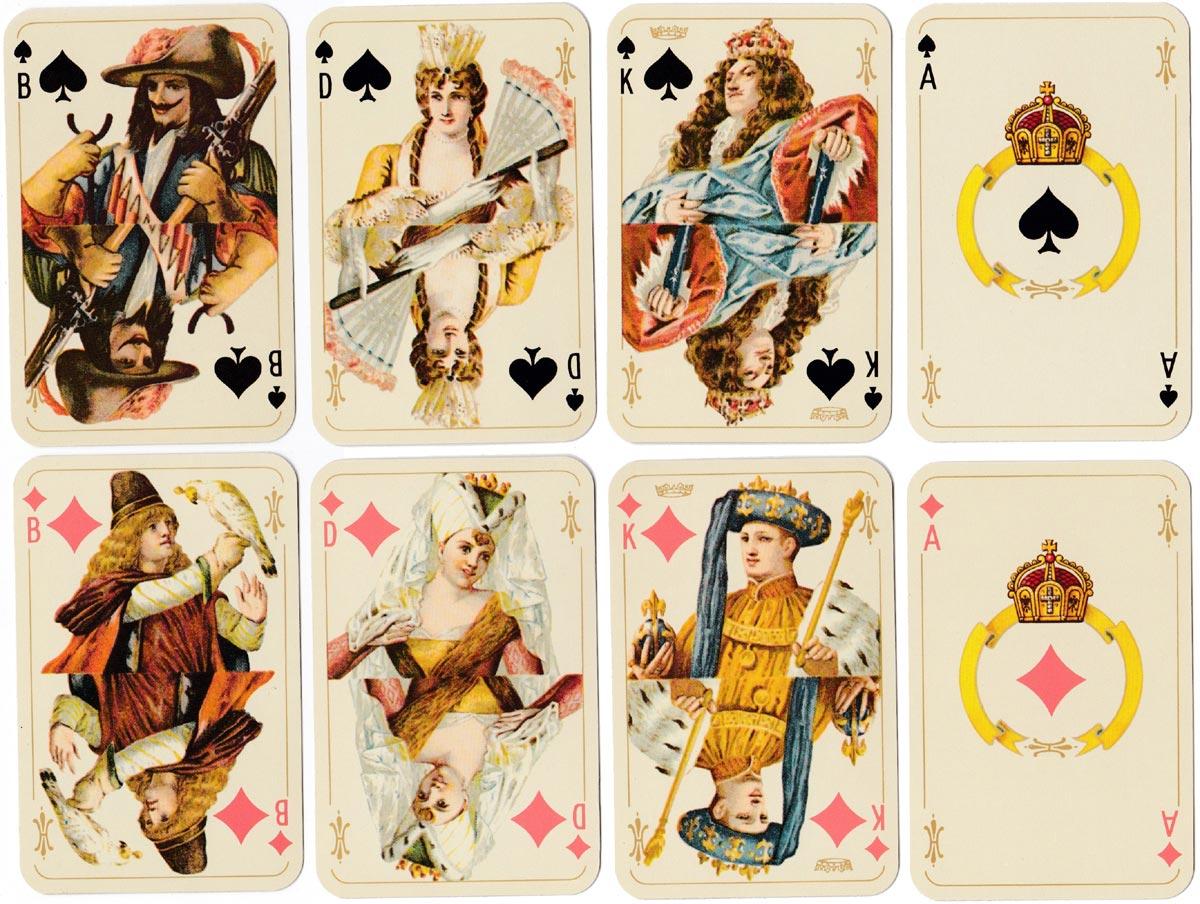 """facsimile of """"Kaiserkarte"""" by Schneider & Co"""