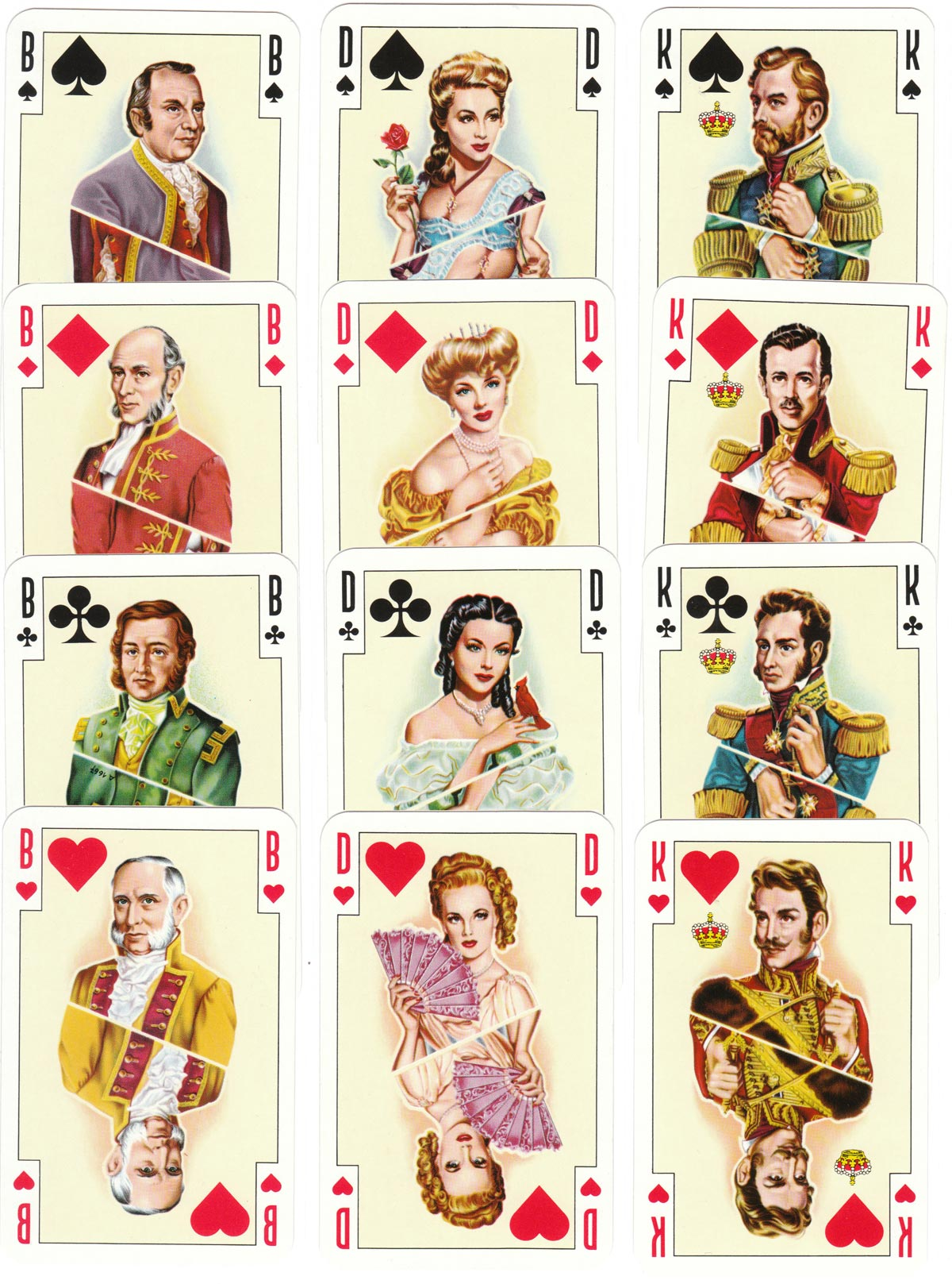 Renovation 2.000 playing cards manufactured by A.S.S., c.1958