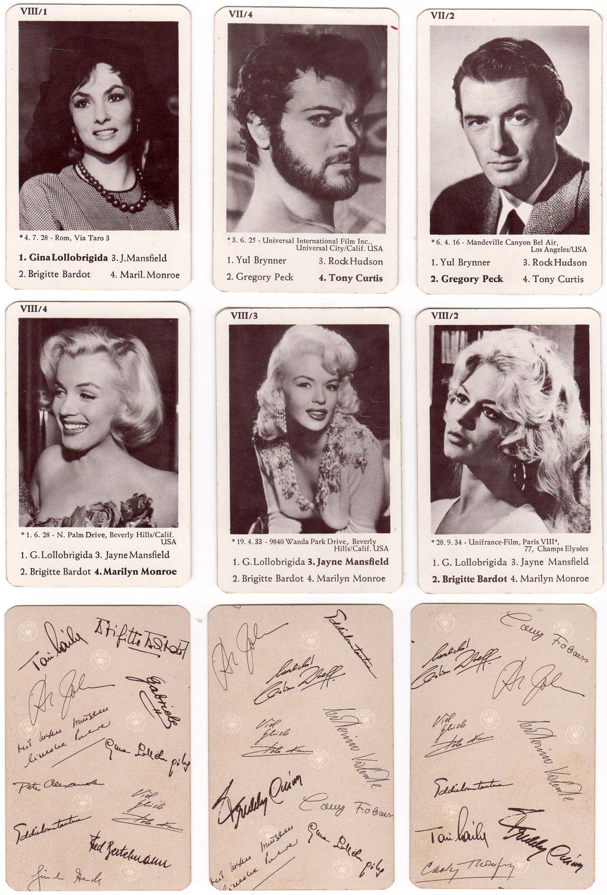 """Schlager Film Revue """"Hot and Sweet"""" Quartett für Teenager, 1964"""