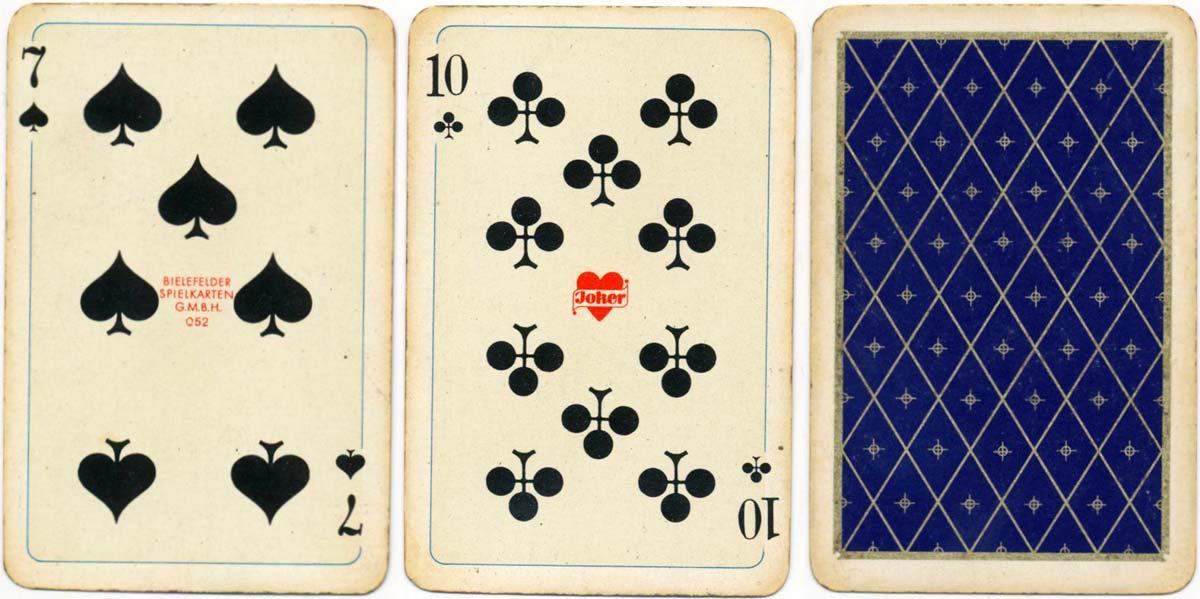 """""""Comtesse"""" by Bielefelder Spielkarten Fabrik, 1960s"""