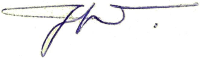 Villiger's signature c.1950