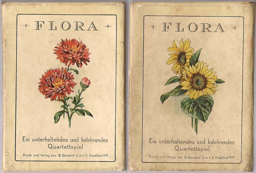 Box from Dondorf 'Flora', c.1905