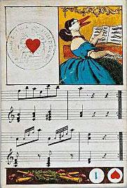 """Dondorf's """"Musikalisches Kartenspiel"""" c.1862"""