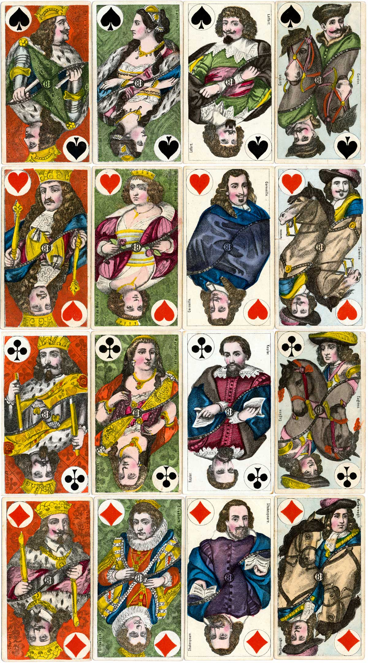 Dondorf's Tarot, early version from c.1870