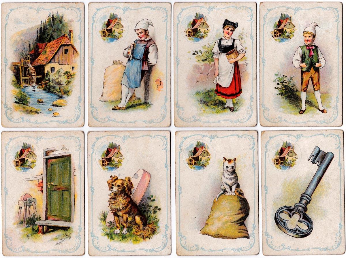 'Tout Est Bien Qui Finit Bien' family card game by Dondorf, No.323