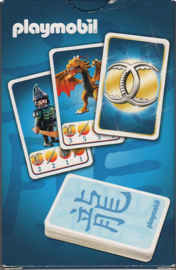 Dragon Fight card game by Playmobil ®, 2014