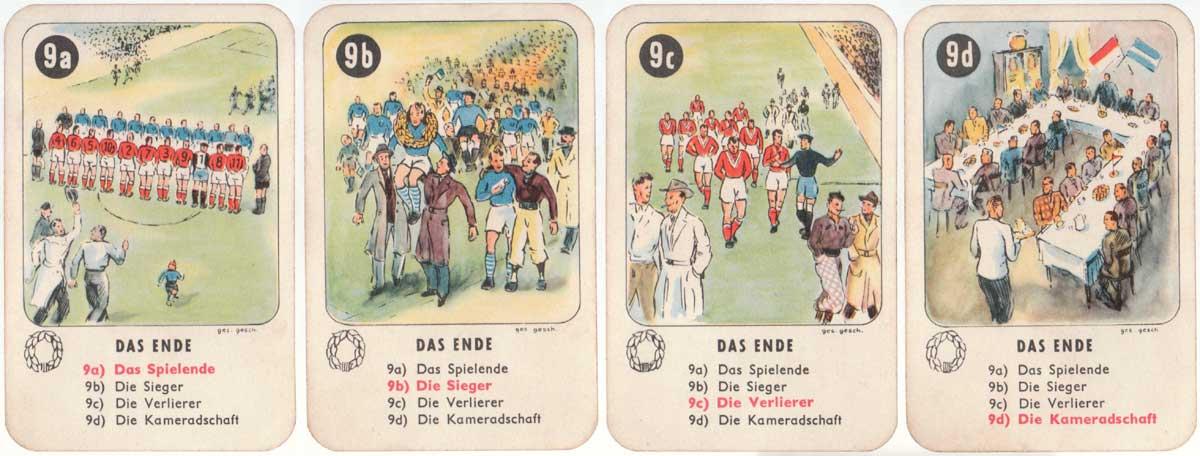 Fussball Quartett by Bielefelder Spielkarten GmbH, c.1958