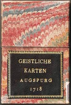 Box from Geistliche Karten, Augsburg, 1718