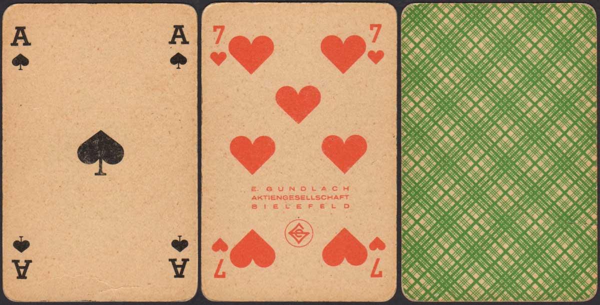 Skat No.100 by E. Gundlach, Bielefeld, 1949