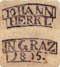 Tarock deck made by Johann Herrl in Graz 1815