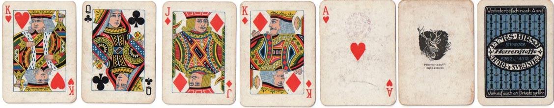 standard English cards by Lattmann
