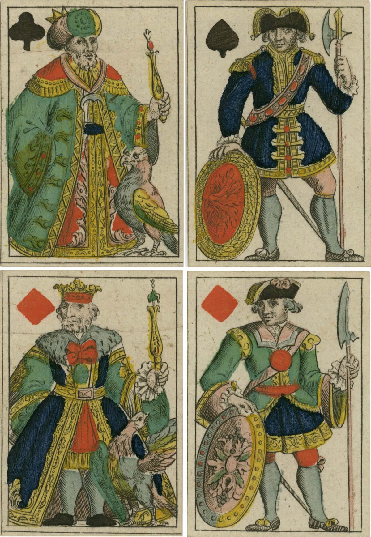 Chur Ober-Pfälzische Französisch Karten by Joseph Losch, c1800