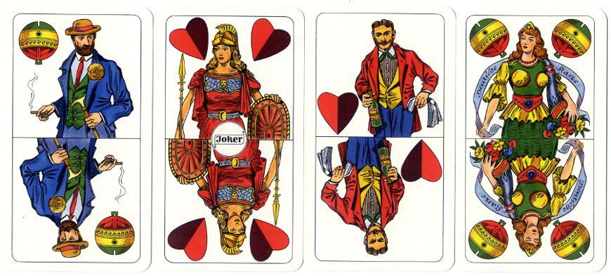 Prussian Pattern, later type, Bielefelder Spielkarten GmbH, 1970