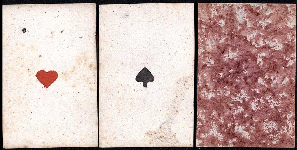 playing cards by I. Schenck, Nuremberg, late XVIIIth century