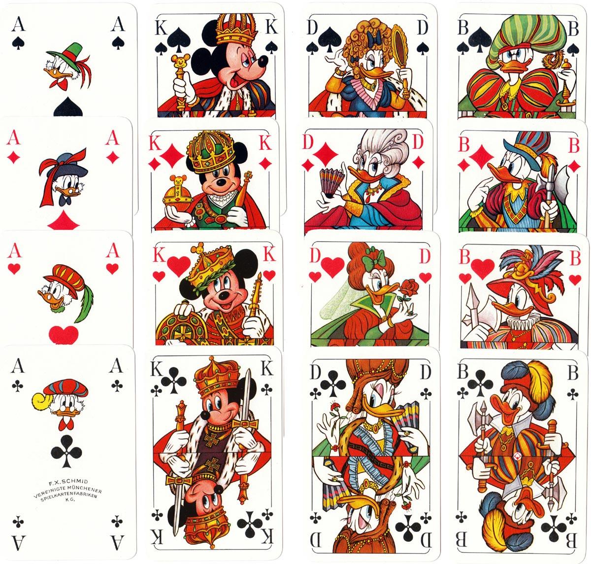 """""""Micky Mau~Mau"""" by F. X. Schmid Vereinigte Münchener Spielkartenfabriken, 1978"""