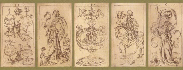 Playing Cards by the South German Engraver