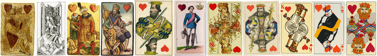 Card-playing rapidly became popular in medieval Bavaria and German printers were quick to supply the goods
