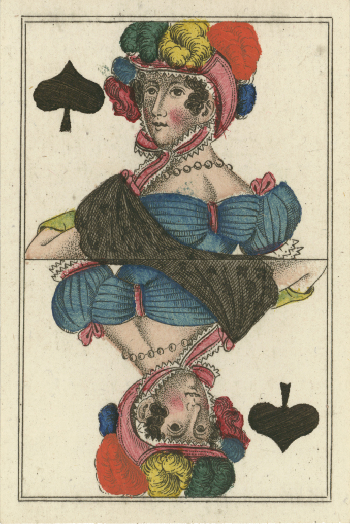 early German deck by unknown maker, c.1825
