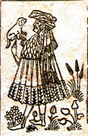 German XV century playing-card