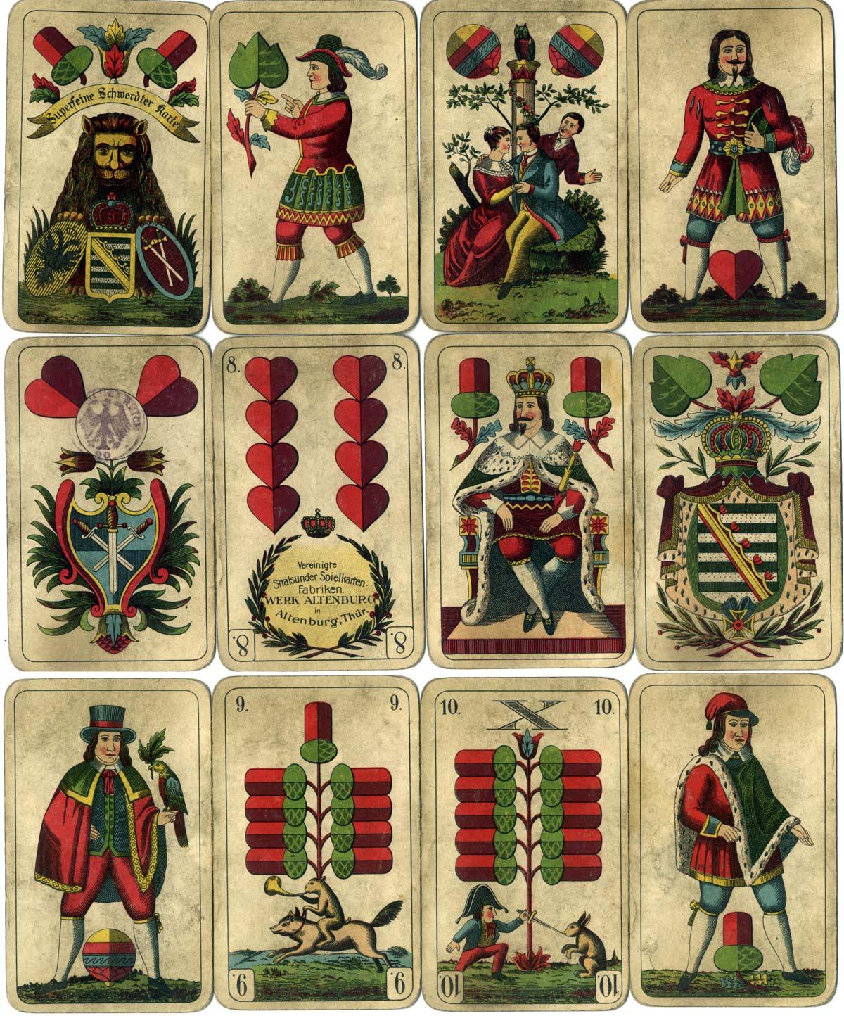 The German Saxon Pattern or Schwerdter Karte