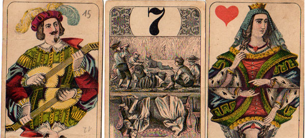 """Bourgeois Tarot"" by C. L. Wüst"