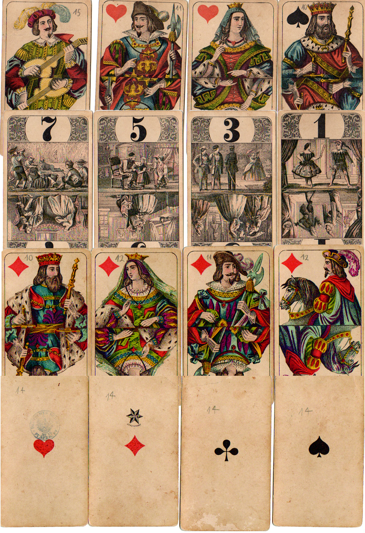 Encyclopedic Tarot by C. L. Wüst, c.1890