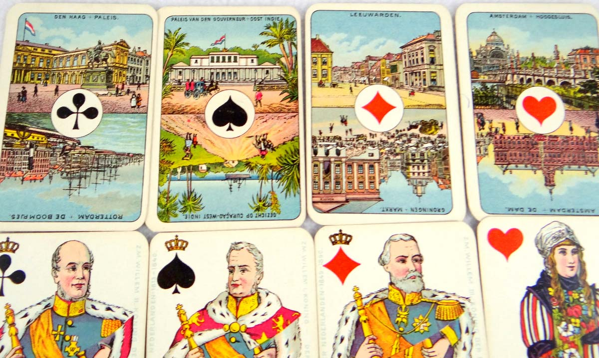 Wüst: Nationaal Speelkaart Nº 165, 1905