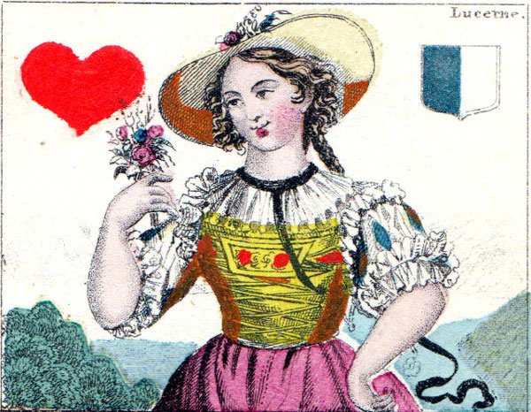 C. L. Wüst: Swiss Costumes, c.1875