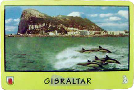 Souvenir Playing Cards from Gibraltar