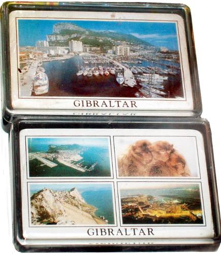 Playing Cards in Gibraltar